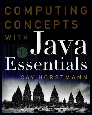 Computing Concepts with Java Essentials  3rd 2003 edition cover