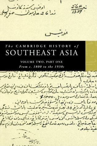 Cambridge History of Southeast Asia From C. 1800 to the 1930s  1999 edition cover