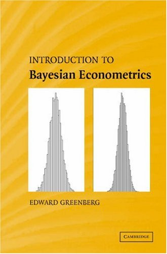 Introduction to Bayesian Econometrics   2008 9780521858717 Front Cover