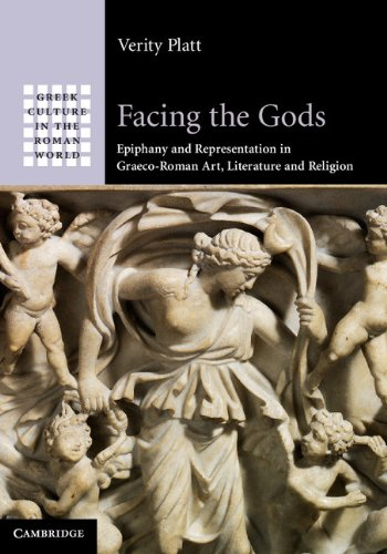 Facing the Gods Epiphany and Representation in Graeco-Roman Art, Literature and Religion  2011 9780521861717 Front Cover