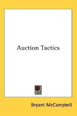 Auction Tactics  N/A 9780548013717 Front Cover