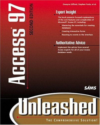 Access 97 Unleashed  2nd 1998 (Revised) 9780672312717 Front Cover
