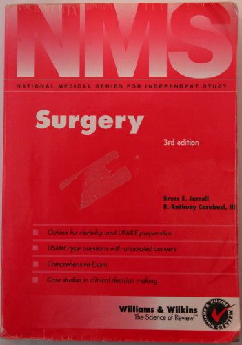 Surgery 3rd 1996 9780683062717 Front Cover