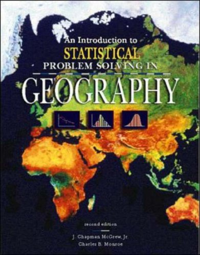 Introduction to Statistical Problem Solving in Geography  2nd 2000 (Revised) edition cover