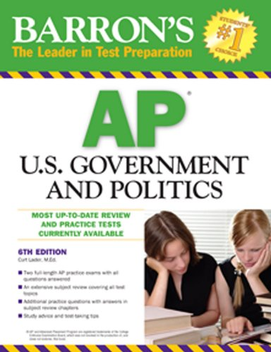 U. S. Government and Politics  6th 2010 (Revised) edition cover
