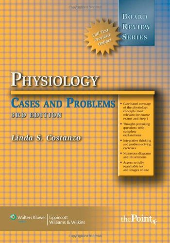 Physiology Cases and Problems 3rd 2008 (Revised) edition cover