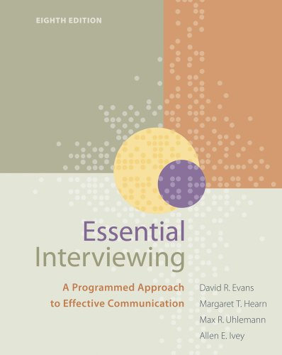Essential Interviewing A Programmed Approach to Effective Communication 8th 2011 edition cover