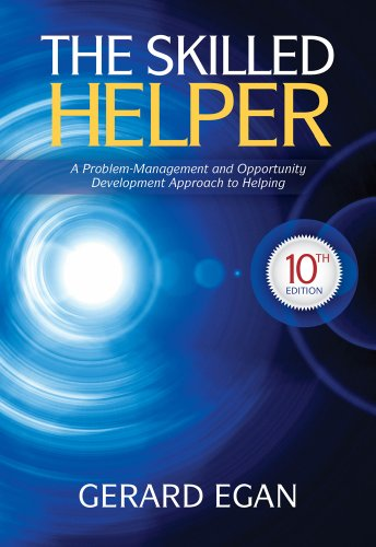 The Skilled Helper: A Problem-management and Opportunity-development Approach to Helping  2013 edition cover