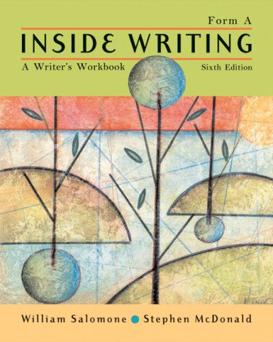 Inside Writing  6th 2007 (Revised) 9781413017717 Front Cover