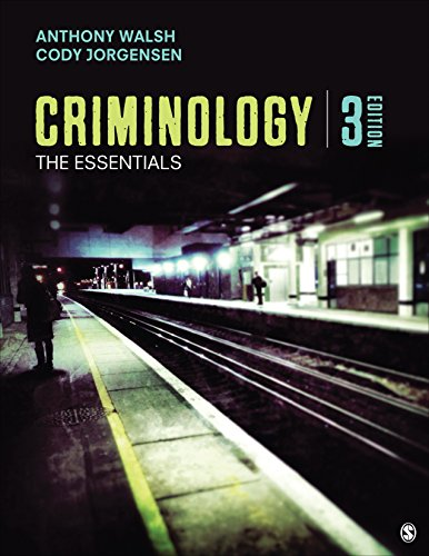 Criminology The Essentials 3rd 2018 9781506359717 Front Cover