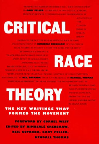 Critical Race Theory The Key Writings That Formed the Movement  1995 edition cover