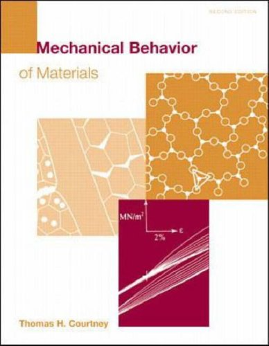 Mechanical Behaviour of Materials (McGraw-Hill International Editions: Material Science/metallurgy Series) N/A edition cover