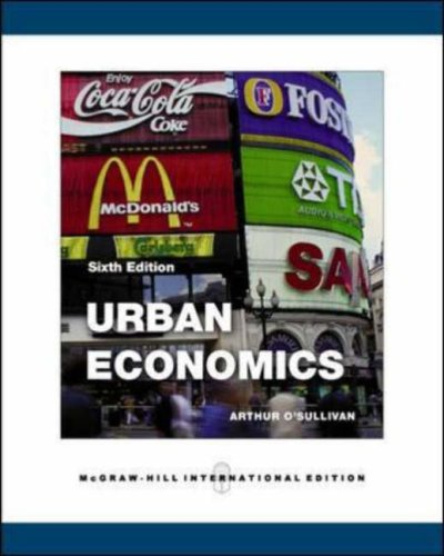 Urban Economics N/A edition cover