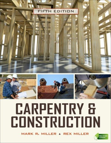 Carpentry and Construction  5th 2010 edition cover