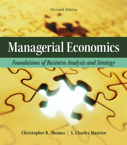 Managerial Economics:   2012 edition cover