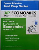 FOUNDATIONS OF ECONOMICS-TEST PREP.WKBK N/A 9780133812718 Front Cover