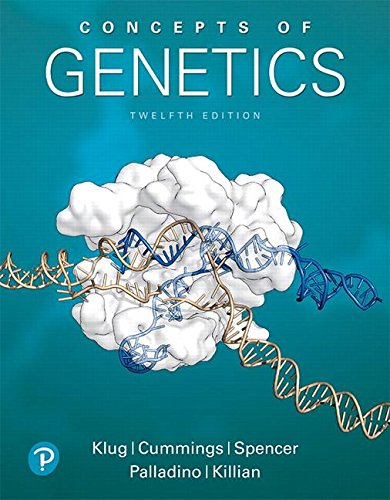 Concepts of Genetics:   2018 9780134604718 Front Cover