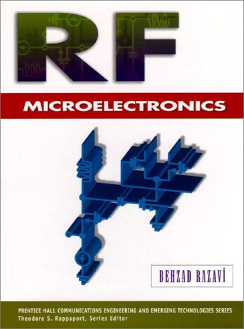 RF Microelectronics   1998 edition cover