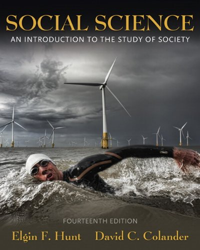 Social Science An Introduction to the Study of Society 14th 2011 edition cover