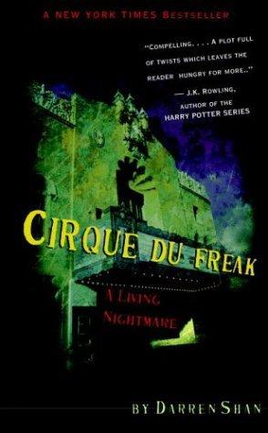 Cirque du Freak   1993 9780316905718 Front Cover