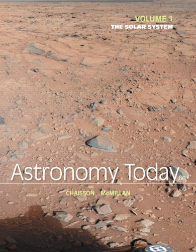 Astronomy Today Volume 1 The Solar System 8th 2014 edition cover