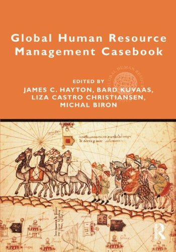 Global Human Resource Management Casebook   2012 edition cover
