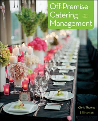 Off-Premise Catering Management  3rd 2013 edition cover