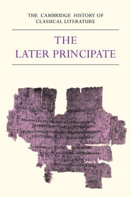 Latin Literature The Later Principate  1983 9780521273718 Front Cover