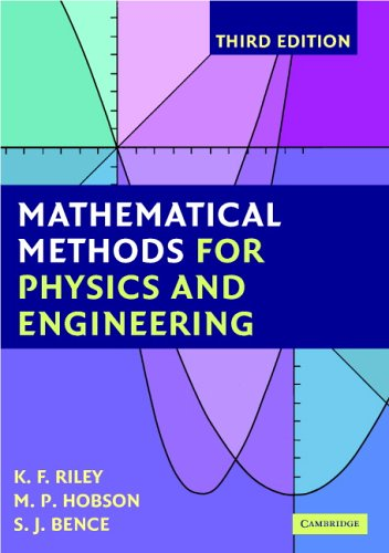 Mathematical Methods for Physics and Engineering A Comprehensive Guide 3rd 2006 (Revised) edition cover