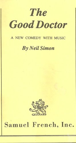 Good Doctor A New Comedy with Music  1975 edition cover