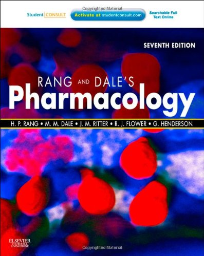 Rang and Dale's Pharmacology  7th 2011 edition cover