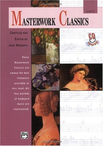 Masterwork Classics Level 5, Book and CD  1989 edition cover
