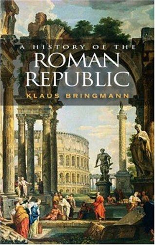 History of the Roman Republic   2007 edition cover