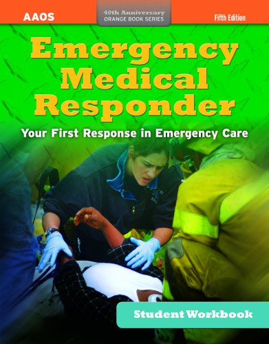 Ssg- Emergency Medical Responder 5E Student Workbook  5th 2012 (Revised) edition cover