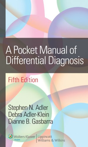 Pocket Manual of Differential Diagnosis  5th 2008 (Revised) edition cover