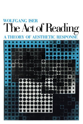 Act of Reading A Theory of Aesthetic Response  1979 edition cover