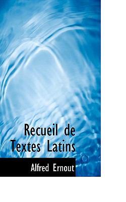Recueil de Textes Latins N/A 9781115385718 Front Cover