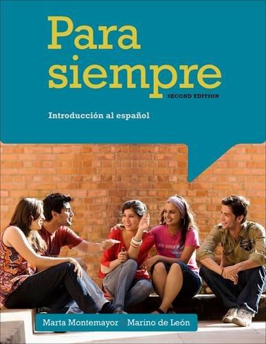 Para Siempre / Forever: Introduccion al espanol  2013 edition cover