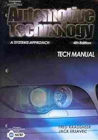 Automotive Technology : A Systems Approach 4th 2005 9781401875718 Front Cover