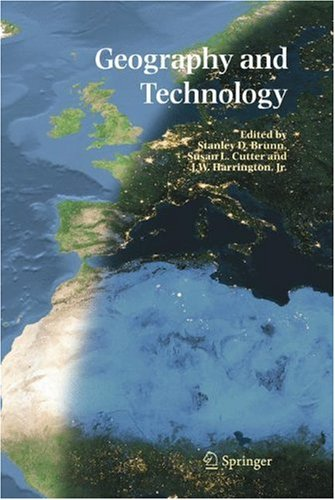 Geography and Technology   2004 9781402018718 Front Cover