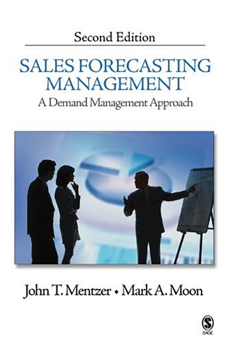 Sales Forecasting Management A Demand Management Approach 2nd 2005 (Revised) edition cover