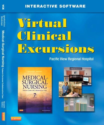 Virtual Clinical Excursions 3. 0 for Medical-Surgical Nursing Patient-Centered Collaborative Care 7th edition cover