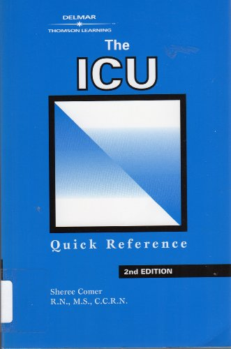 ICU Quick Reference  2nd 1998 (Revised) 9781569300718 Front Cover