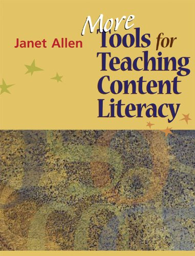 More Tools for Teaching Content Literacy   2008 edition cover