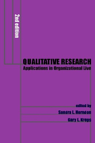 Qualitative Research Applications in Organizational Communication 2nd 2001 9781572733718 Front Cover