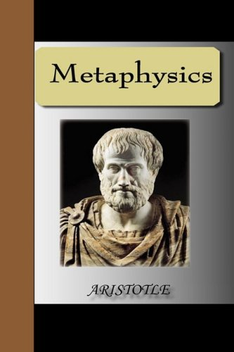 Metaphysics - Aristotle N/A edition cover