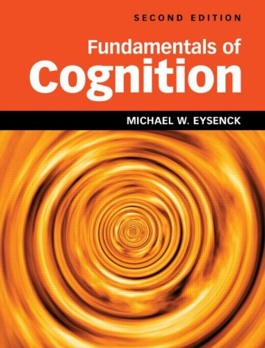 Fundamentals of Cognition 2nd Edition  2nd 2012 (Revised) edition cover