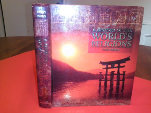 History Worlds Religions 9th 1994 edition cover