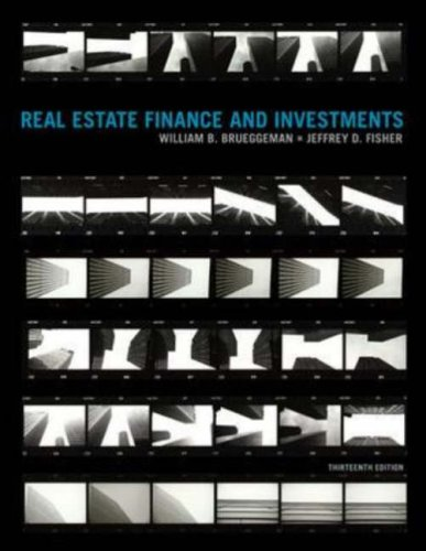 Real Estate Finance and Investments  13th 2008 (Revised) edition cover
