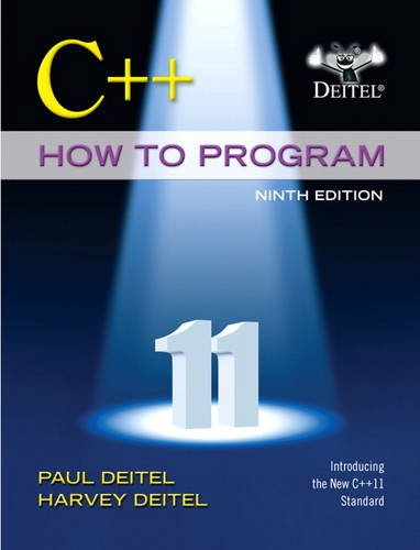C++ How to Program (Early Objects Version)  9th 2014 edition cover
